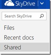 sharing skydrive