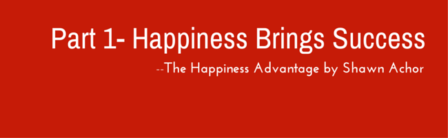 happiness brings success