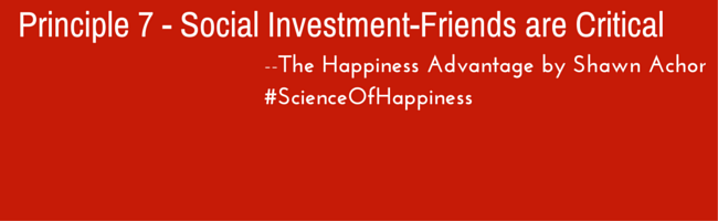 principle 7 - social investment