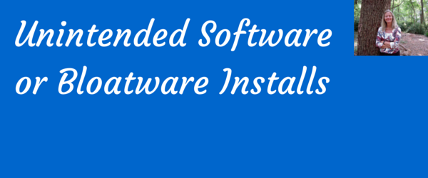 unintended software