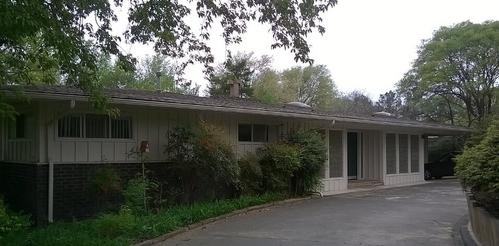 mid-century house