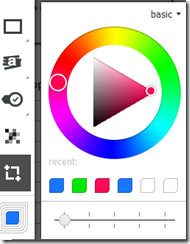 Skitch text size and color tool