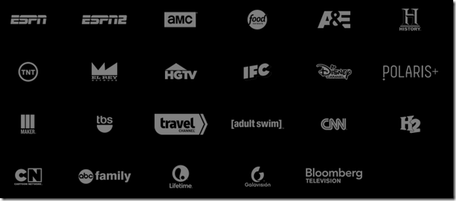 sling tv channels