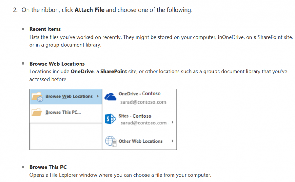 add files from onedrive or your computer