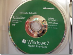 Windows 7 Install Disk