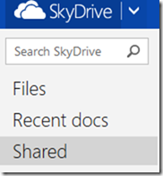 sharing skydrive
