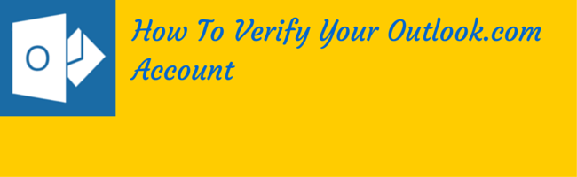 verify your outlook.com account