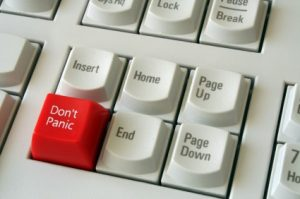 don't panic with your social media