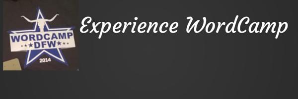 wordcamp experience