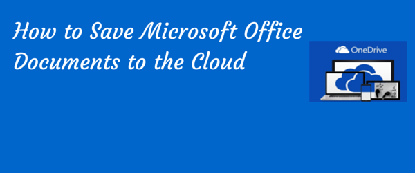 save office documents to cloud