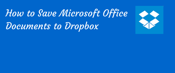 save to dropbox