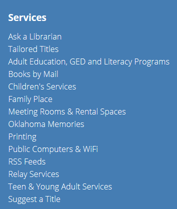okc library & lynda.com