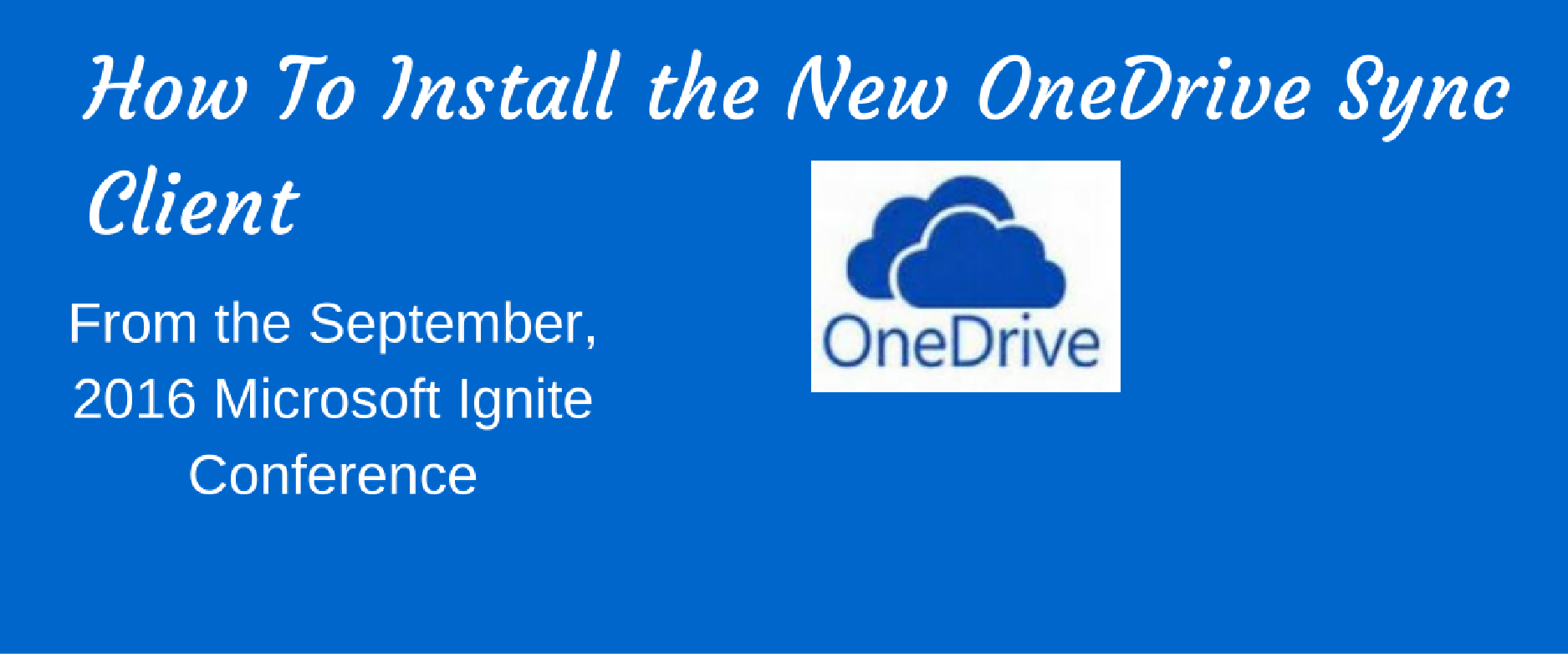 new onedrive sync client