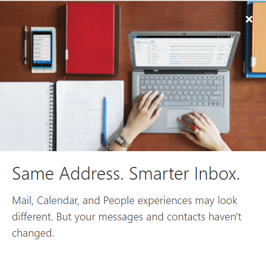 Welcome to the New Outlook.com