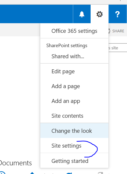 SharePoint Name Change First Steps