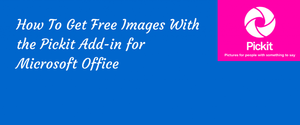 free pick-it images from microsoft to use