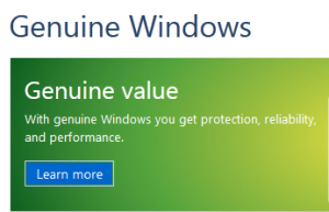 get genuine windows kit