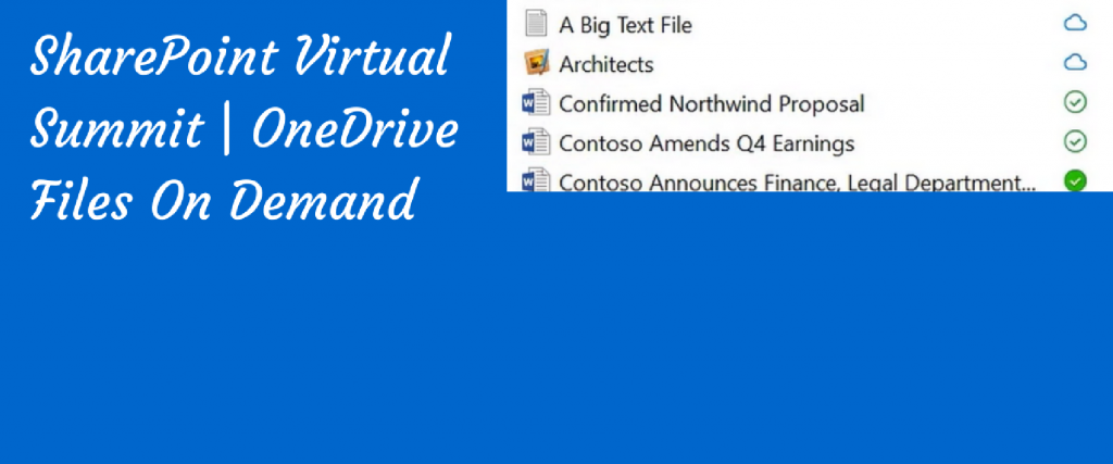 onedrive files on demand poster